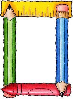 Album Archive - Molduras e Barras Boarder Designs, Page Borders Design, Classroom Borders, Classroom Decor, Borders For Paper, Borders And Frames, School Items, School Days, School Border