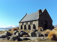 Mackenzie Church, Lake Tekapo.