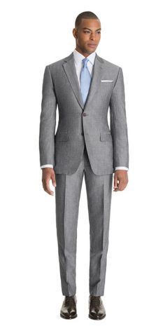mens suits and sport coats Stylish Mens Fashion, Suit Fashion, Stylish Menswear, Great Clothes For Men, David Beckham Suit, Men's Business Outfits, Formal Suits, Grey Suits, Well Dressed Men
