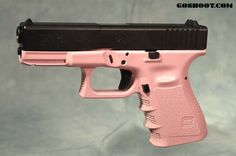 pink glock | Pink Duracoat on Glock Frame for one of our special customers.