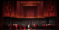 Don Giovanni. Teatro - Don Giovanni. Teatro alla Scala. Scenic design by Michael Levine. 2011 --- #Theaterkompass #Theater #Theatre #Schauspiel #Tanztheater #Ballett #Oper #Musiktheater #Bühnenbau #Bühnenbild #Scénographie #Bühne #Stage #Set