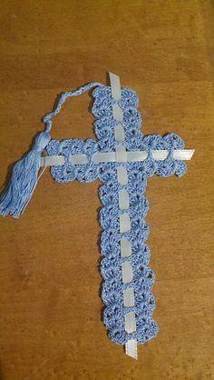 Ravelry: cross bookmark pattern by Sharon Devol