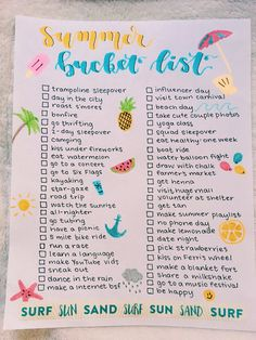 summer bucket list summer bucket list,DIY und Selbermachen Related posts:Olymp Luxor Hemd Modern Fit Weiß Olymp - summer vibesSpring And Summer Vibes Street Style Things To Do At A Sleepover, Fun Sleepover Ideas, Sleepover Activities, Best Friend Activities, Summer Activities For Teens, Family Activities, Summer Bucket List For Teens, Summer Fun List, Teen Bucket List