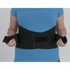 The back saver is designed to give you a customised fit. Featuring two adjustable straps with hook and loop closure it provides custom support and compression to suit you. #back #backpain #backsupport #lowerback #lumbar