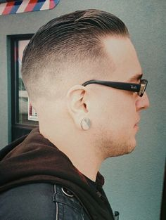 Great fade slick back