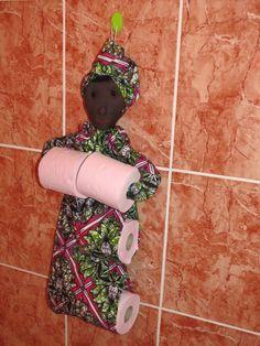 Porte papier toilette WaxinDeco - vma.
