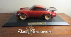 Curtis Stimpson Woodeye Productions 1991 Red Porsche 944 Turbo CP Prototype #Handmade #Porsche