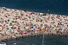 strand Blijburg bij mooi weer