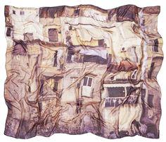"Good & Co AW13 silk scarf - ""Cefalu"" - 160x130cm"