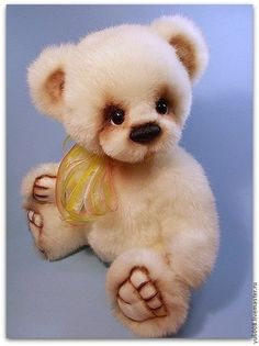 Teddy Bears handmade.  Fair Masters - handmade.  Buy Teddy Bear Mats .. Handmade.  White, teddy bear,