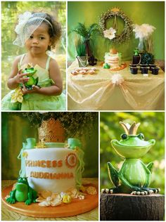 Princess and the Frog Birthday Party via Kara's Party Ideas .com I KarasPartyIdeas.com #PrincessAndTheFrog #PrincessParty #DisneyPrincessParty #PartyIdeas #PartyDecor