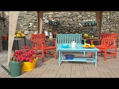 Programa completo - Decorar una terraza grande - Decogarden - YouTube Fresco, Outdoor Furniture Sets, Outdoor Decor, Exterior, Grande, Diy, Pallets, Home Decor, Youtube