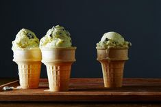 Fresh Mint Chip Ice Cream recipe: Bigger mint flavor than any of the bright green store-bought varieties. #food52
