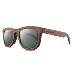 Quince Polarized Wooden Sunglasses | Shade your eyes from that blinding light in the sky with these... | Sunglasses