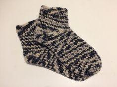 Mine første hæklede sokker