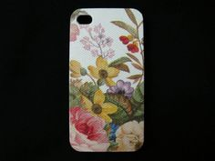 vintage flowers   iphone 4s case/ iphone 4s cover / by piimism, $16.50