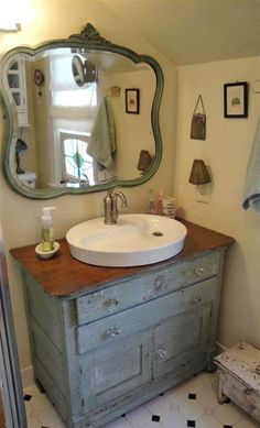 vanities made from old dressers - Bing Images