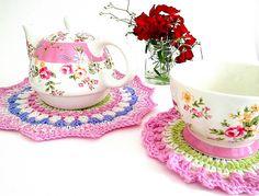 Ravelry: Tea Time Teapot Doily pattern by Lu Douglas