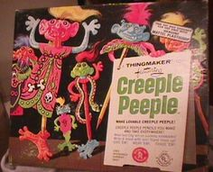 Creeple People.  Yeah I can't see a lot of the old kids toys passing safety inspection these days but man they were fun back then.