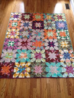Field Study Starburst Cross finished by cyclingjanes Star Quilt Patterns, Star Quilts, Scrappy Quilts, Easy Quilts, Quilt Blocks, Pink Quilts, Amish Quilts, Quilting Projects, Quilting Designs