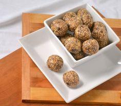 One Bowl, All Natural, No-Bake Energy Bites | Food Doodles