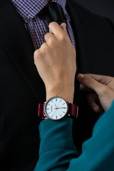 PARSONII WATCH. One watch to wear multiple ways! It's elegant, stylish, practical, and adjustable with interchangeable bands to match your style!