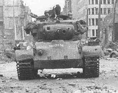 Tank in Cologne