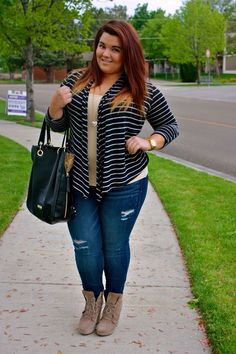Cute plus size outfit