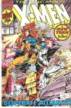 The Uncanny X-Men 281 (Oct 1991, Marvel) VF 1st Printing Only $2.50-