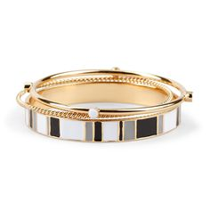 Enamel Bangle Set Of 3 via Cwonder