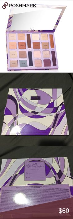 NEW Tarte Color Vibes Palette for Holiday 2016 Brand new in box tarte palette never used. Open to offers. Great selection of colors tarte Makeup Eyeshadow
