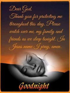 Gracious God, I thank You for every task and activity that You gave to me today. It is with a spirit of peace, love and joy, that I prepare for rest. May I continue to acknowledge the many signs an…