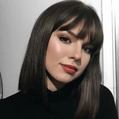 Short Hair With Bangs, Hairstyles With Bangs, Pretty Hairstyles, Hair Inspo, Hair Inspiration, Medium Hair Styles, Short Hair Styles, Short Grunge Hair, Trending Haircuts