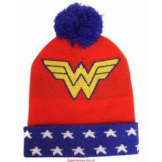 Czapka Wonder Woman z pomponem