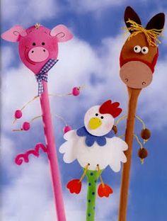 Isten tenyerén: Fakanálbáb készítése, wooden spoon puppet