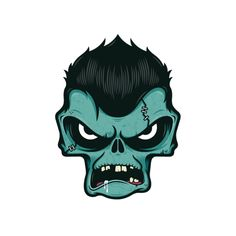 Zombiefy by GUTURO, via Behance