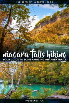 Niagara Falls Hiking That's Better Than Hamilton's Dundas Peak » I've Been Bit :: A Travel Blog Alberta Canada, Canada Ontario, Places To Travel, Travel Destinations, Vancouver, Niagara Falls Ontario, Canadian Travel, Canadian Rockies, Ontario Travel