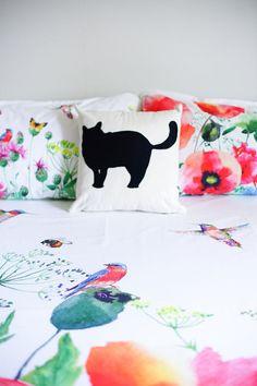 10% OFF Little cartoon cat fat cat black cat cat lovers