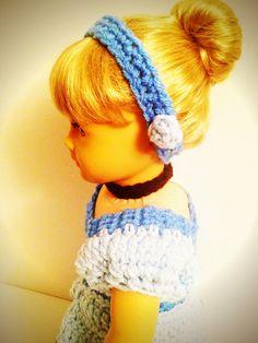 Hand Crocheted Disney Cinderella Inspired Dress by BittyBeanies