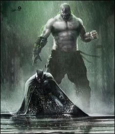 Batman - Bane by *AndyFairhurst on deviantART