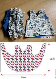 for babies and babies-sewing – - Kindermode Ideen Baby Girl Dress Patterns, Baby Clothes Patterns, Dresses Kids Girl, Dress Sewing Patterns, Clothing Patterns, Kids Outfits, Pillowcase Dress Pattern, Girls Dresses Sewing, Sewing Patterns For Kids