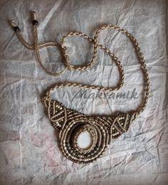 #necklace, #micro-macrame, #macrame, #naszyjnik, #makrama