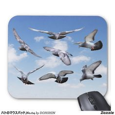 Mouse pad of pigeon, No.04