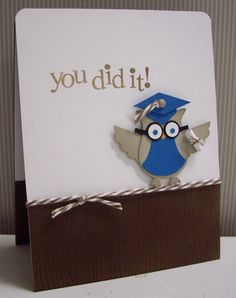 Stamping with Loll: Grad Card