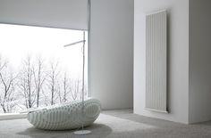 Designer Vertical Electric Radiators for Interior Designers.