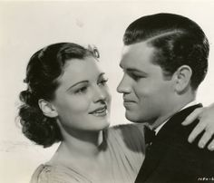 Tom Neal and Ruth Hussey, Within the Law (1939)