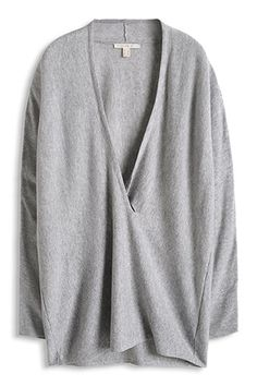 Esprit / Fijngebreide oversized trui met kasjmier