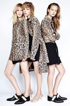 animal print love #style #fashion #zara