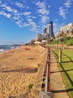 Umhlanga Beach, Durban, South Africa  4 WEEKS, 4 WEEKS! Can't wait!