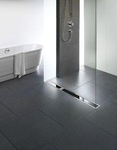 Viega Visign shower drain from glas: Shower Drain, Visign Shower